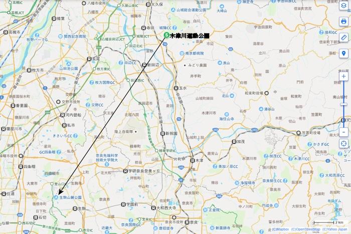 Ikoma-map